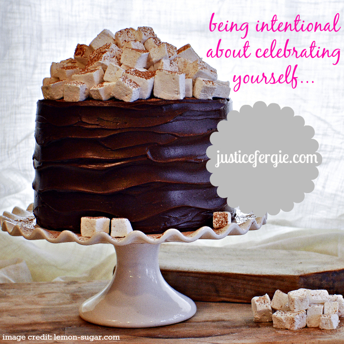 Hot Chocolate Layer Cake Blog Post Graphic