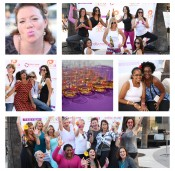 {Sponsored} Sangria + Yoga = Love: My #BlogHer14 #NamastEppa Party Recap
